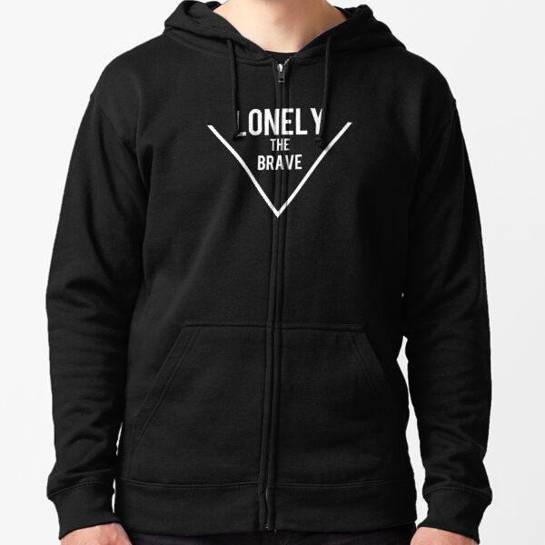 Lonely the brave Zipped Hoodie