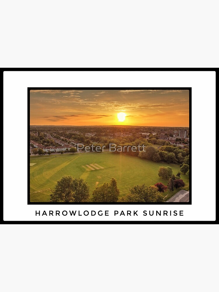 Harrowlodge Park Sunrise by hartrockets