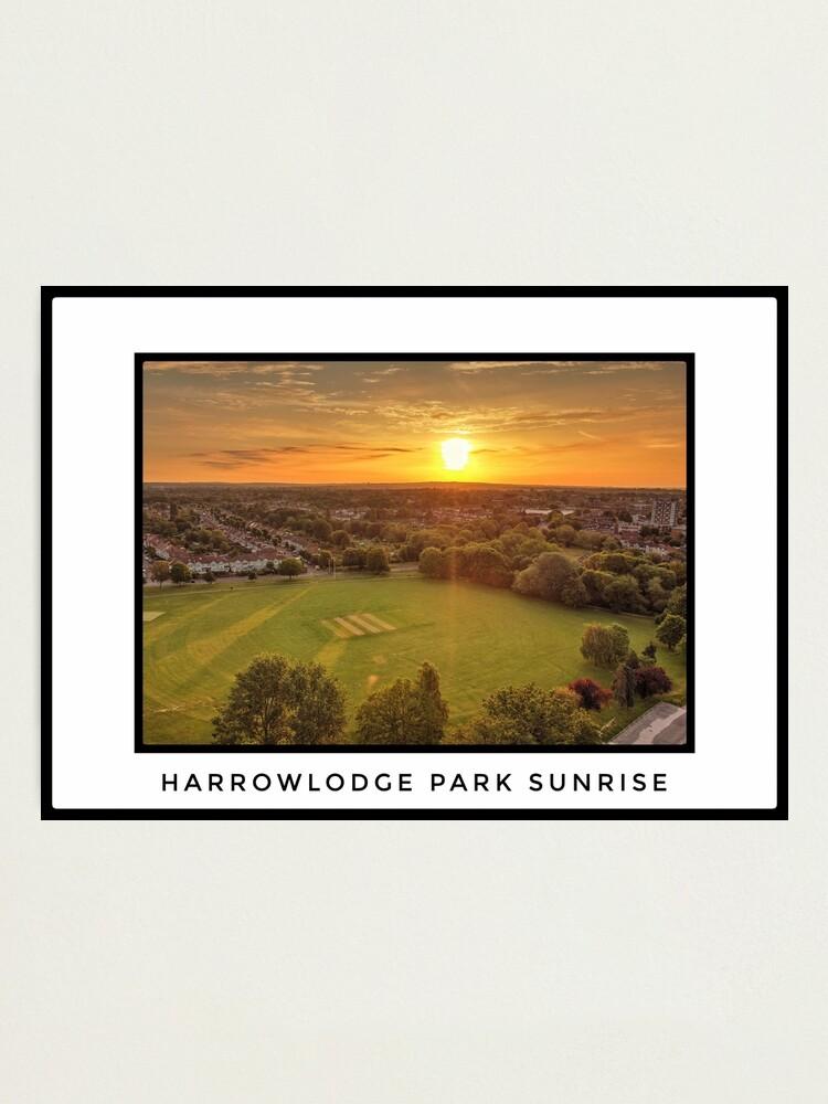 Alternate view of Harrowlodge Park Sunrise Photographic Print