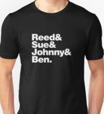 FF- Reed, Sue, Johnny & Ben Unisex T-Shirt