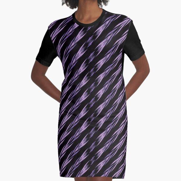 Ancient Batik Motif - Brown Graphic T-Shirt Dress