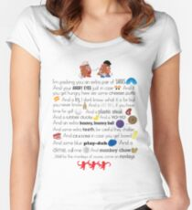 Mr. and Mrs. Potato Head Women's Fitted Scoop T-Shirt