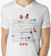 Mr. and Mrs. Potato Head Mens V-Neck T-Shirt