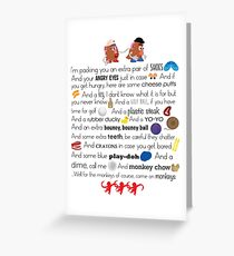 Mr. and Mrs. Potato Head Greeting Card