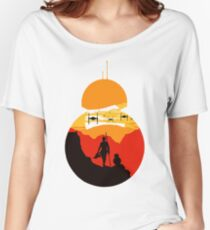 Star Wars VII - BB8 & Rey 2 Women's Relaxed Fit T-Shirt