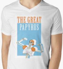 THE GREAT PAPYRUS Men's V-Neck T-Shirt