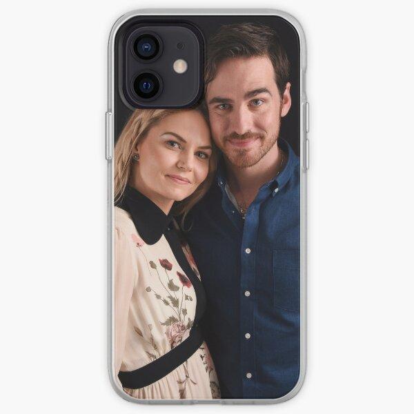 Emma and Killian - Captain Swan - Comic Con Poster iPhone Soft Case