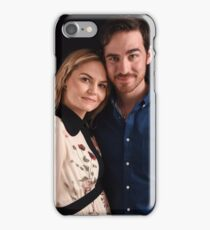 Emma and Killian - Captain Swan - Comic Con Poster iPhone Case/Skin