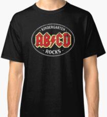 Vintage Kindergarten Rocks - dark Classic T-Shirt