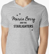 Marvin Berry & The Starlighters – BTTF, Marty McFly Mens V-Neck T-Shirt
