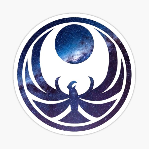 Skyrim - Nightingale in Galaxy theme Sticker