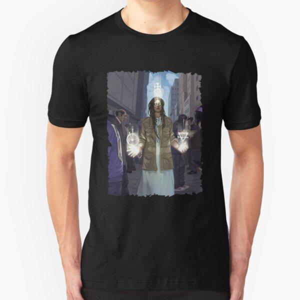 Awakening Art: Design 05 Slim Fit T-Shirt