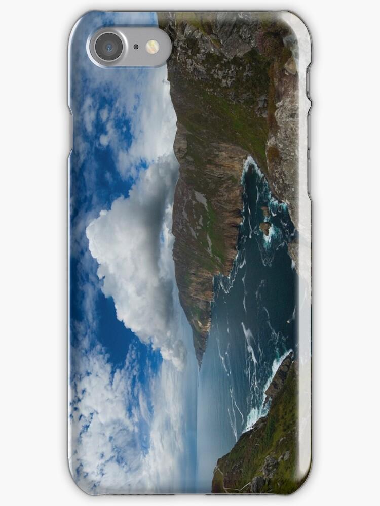 Bunglas Cliffs iPhone by George Row