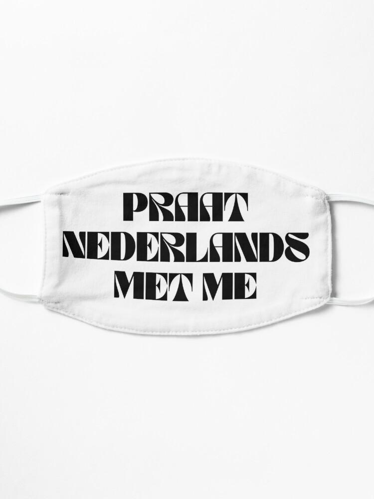 Alternate view of Praat Nederlands Met Me / Talk Dutch to Me Mask