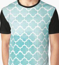 Blue watercolor Graphic T-Shirt