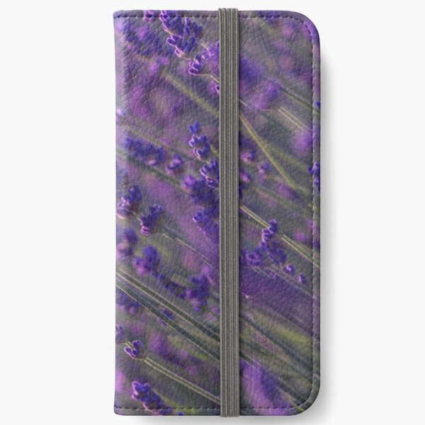 Purple sea of lavander iPhone Wallet