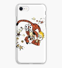 calvin and hobbes 1 iPhone Case/Skin