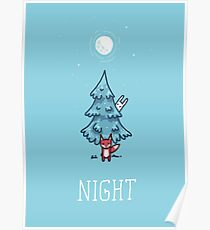 Night Tree Poster