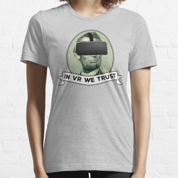 Funny Virtual Reality Player's Cool VR Parody (green) Essential T-Shirt