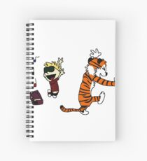 calvin and hobbes Spiral Notebook