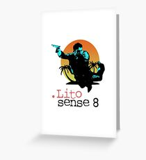 Lito - Sense8 Greeting Card