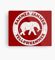 Vintage Rammer Jammer Metal Print
