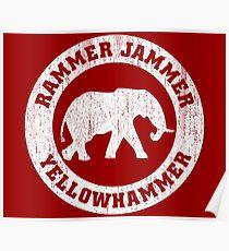 Vintage Rammer Jammer Poster