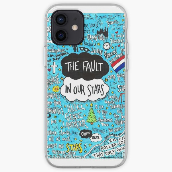 The Fault in Our Stars Collage iPhone Soft Case