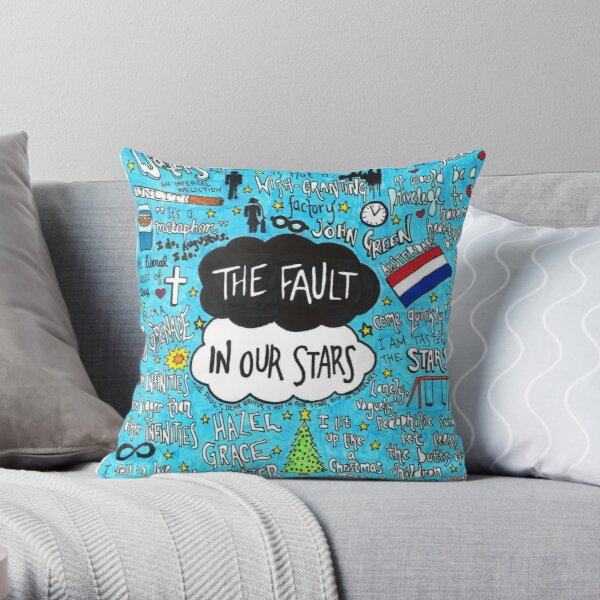 The Fault in Our Stars Collage Throw Pillow