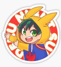 Deku Night Suit  Sticker