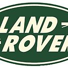 Classic Land Rover Logo by JustBritish