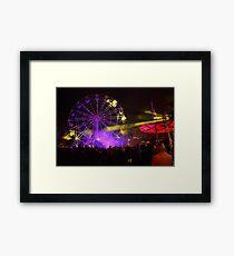 Dark MOFO, Ferris Wheel #2 Framed Print