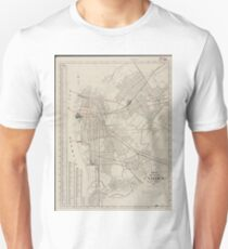 Vintage Map of Camden NJ (1921) Unisex T-Shirt
