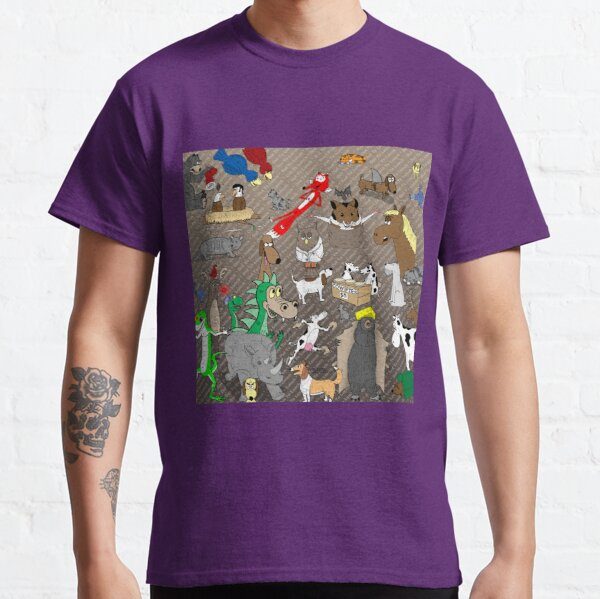 Out to Lunch Animals Collection Classic T-Shirt