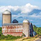 Rural New York Barn by Kenneth Keifer