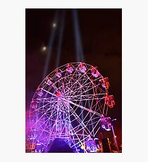 Dark MOFO, Ferris Wheel Photographic Print