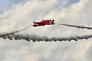Red Arrows Synchro Pair - Farnborough 2014 by Colin  Williams Photography