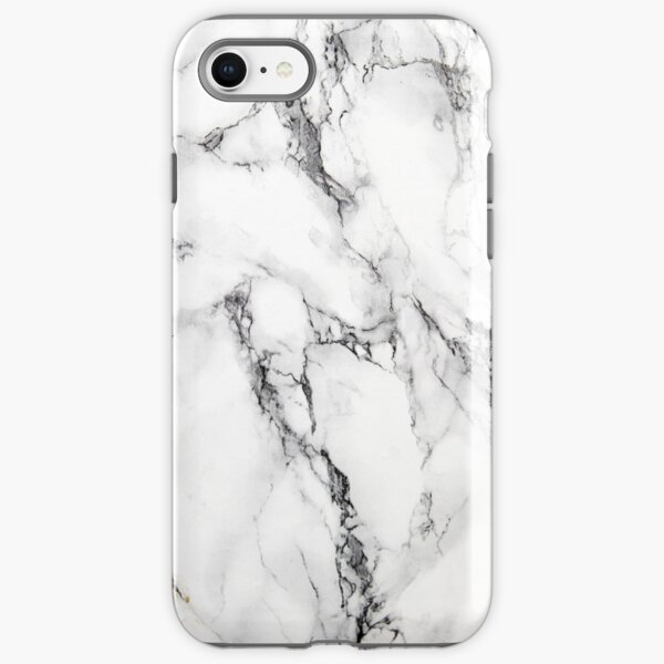 MARBLE - WHITE [iPhone case] iPhone Tough Case