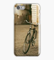lonely bicycle iPhone Case/Skin