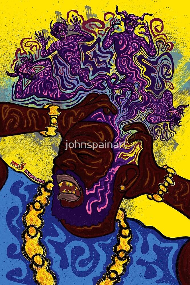 Brain Damage by johnspainart