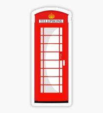 London Telephone 578 Sticker