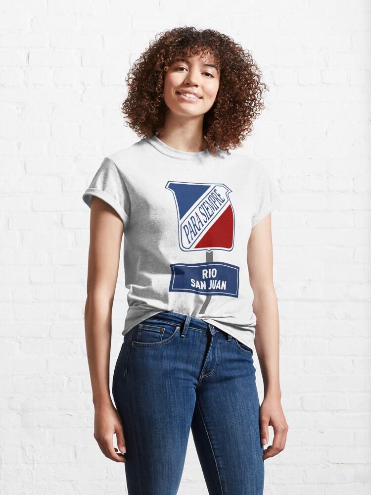 T-shirt classique ''Rio San Juan Para Siempre': autre vue