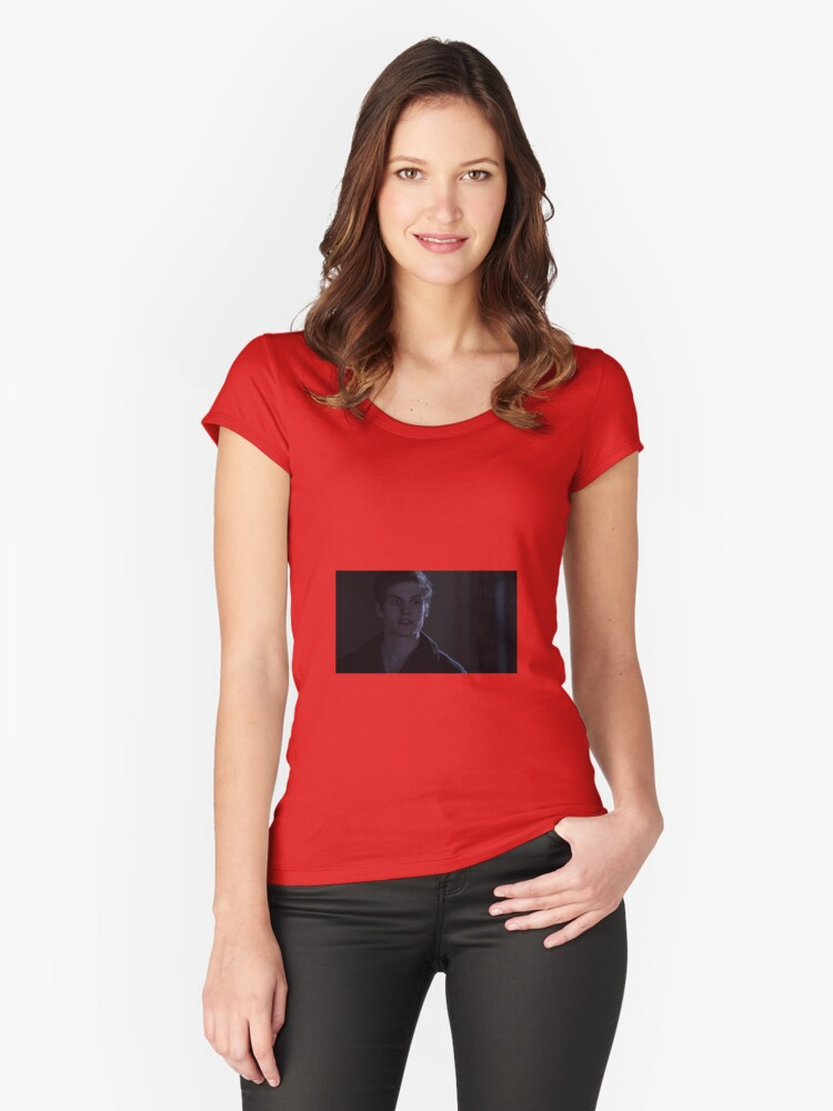 Isaac Lahey Women's Fitted Scoop T-Shirt Front