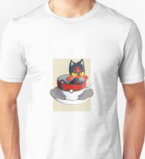 Pokemon Tea Time - Litten T-Shirt