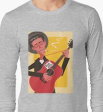 Woody Guthrie Long Sleeve T-Shirt