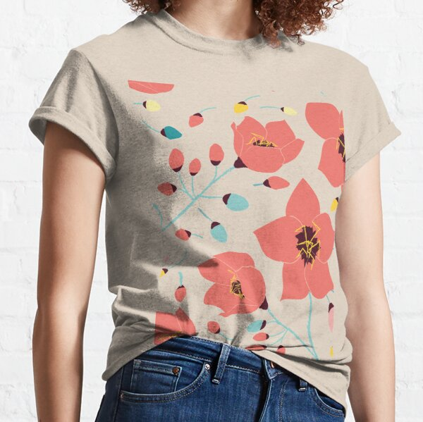 Spring Flowers pattern Classic T-Shirt