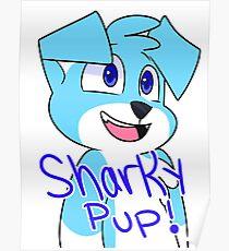 SharkyPup Kipper Poster