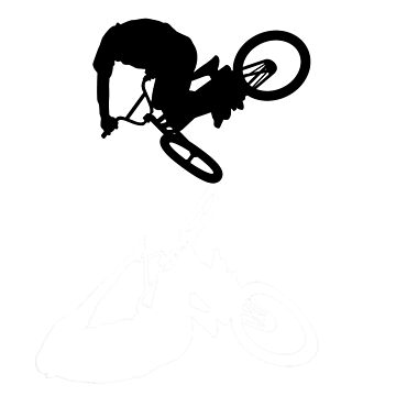 BMX Silhouette & Shadow by Chitoge