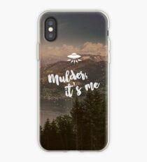 Mulder, it's me. iPhone Case