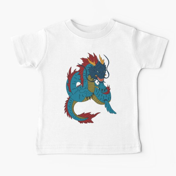 Dragon King - Sea God and Master of  Serpents - Japanese Dragon God Ryujin   Baby T-Shirt